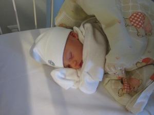 Min dotter, Amelie.