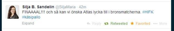@SiljaMaria, www.twitter.com