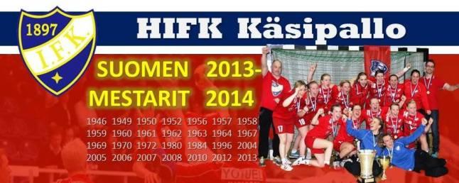 HIFK Suomen Mestari, 2013-2014
