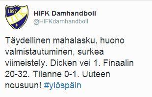 2015-04-14 @HIFKdamhandboll