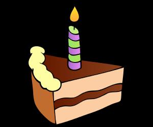 syntymäpäiväkakku