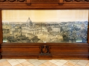 Old picture of Vatican.