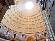 First view as we entered the Pantheon.
