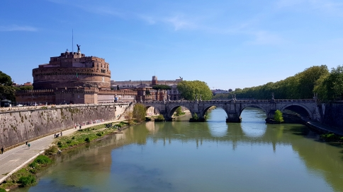 A pretty good picture of Castel Sant'Angelo