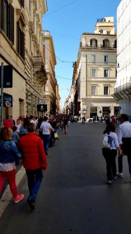 Via de Corso shopping street.
