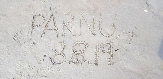Beach art?