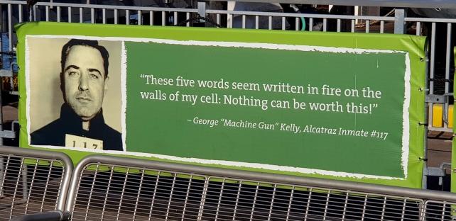 Quotes from inmates of Alcatraz.