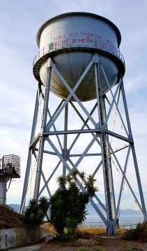 The famous water tower.