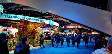 Salesforce Customer 360 main venue.