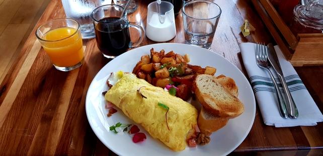A good breakfast omelette.