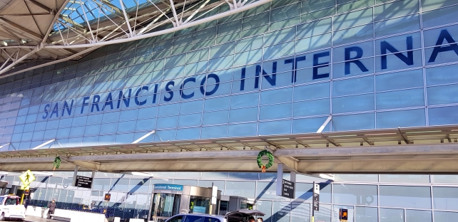 San Francisco international airport.