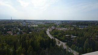 Beatiful view from the restaurant Haikaranpesä, in Espoo Finland.