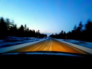 Road trip to Saariselkä.