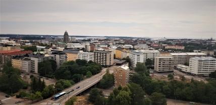 View over Helsinki.