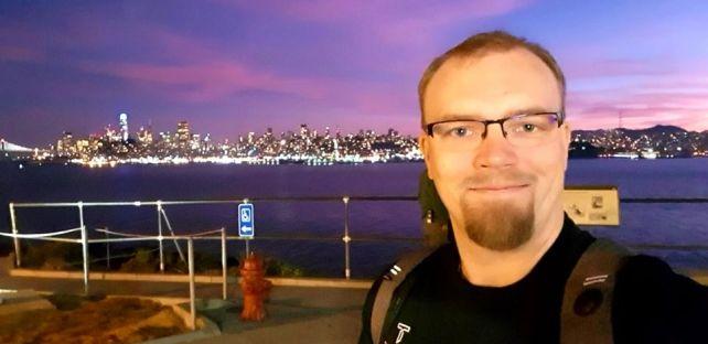 Dream come true, Alcatraz Island and San Fransisco, USA.